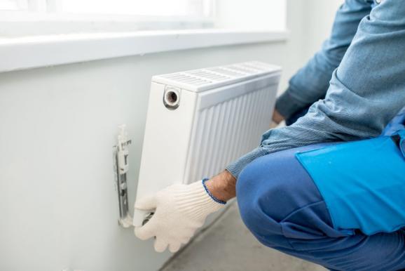 Pose radiateur